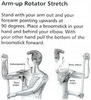 Rotator stretch Exercises